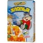 Пластівці кукурудзяні Золоте Зерно зі смаком згущеного молока глазуровані 80г Україна