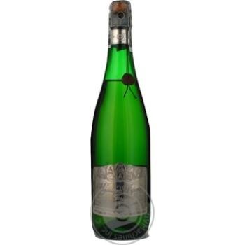 Sparkling wine Balashov white 12.5% 750ml glass bottle Ukraine