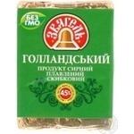 Продукт сирний плавлений Столичний 45% 90г
