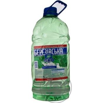 Вода Березовская негазированная лечебно-столовая 5л - купить, цены на Восторг - фото 1