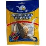 Snack yellowstripe scad Albatros golden salted dried 36g Ukraine