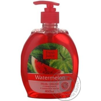 Гель-мыло Fresh Juice Watermelon 460мл - купить, цены на МегаМаркет - фото 2