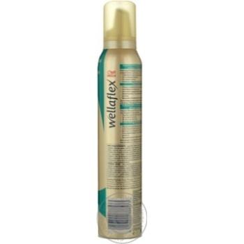Wellaflex Hair Styling Volume Mousse - buy, prices for EKO Market - photo 3