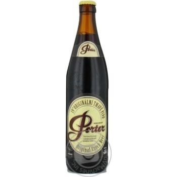 Пиво Pardubicky Porter Original 8% 0,5л - купить, цены на Novus - фото 1