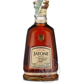 Коньяк Таврія  Jatone V.S. 40% 0,5л - купити, ціни на Novus - фото 1