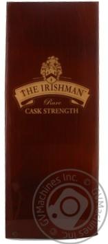 Виски Иришмен 56% 2008год 700мл в коробке Ирландия