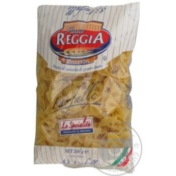 Макаронные изделия Pasta Reggia фарфалле 500г