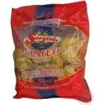 Макароны спагетти Сергини для бульона 400г Украина