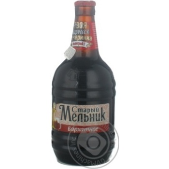 Пиво Старый Мельник бархатное 500мл Россия
