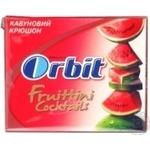 Гумка жувальна Orbit Фруттіні Кавуновий Крюшон 31г