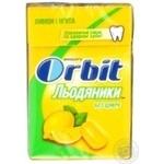 Lollipop Orbit mint sugar free 35g cardboard box Russia