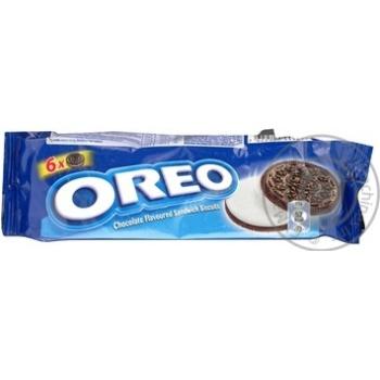 Печиво Орео 95г з какао та кремовою начинкою м/у