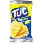 Cracker Tuc with taste of cheese salt 21g packaged Ukraine