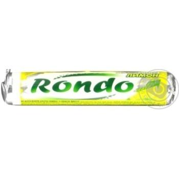 Льодяники Рондо Лимона, м'яти 30г