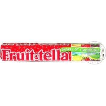 Цукерки жувальні Fruit-tella Полуниця 42,5г