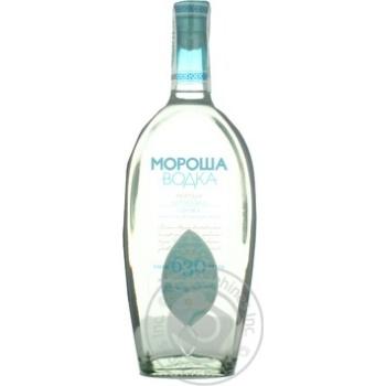 Vodka Morosha Carpatian 40% 700ml glass bottle Ukraine