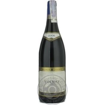 Вино Шампі червоне сухі 13.5% 2006рік 750мл скляна пляшка Бургонь Франція