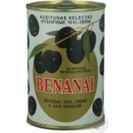 olive Benanai black canned 480ml can Spain