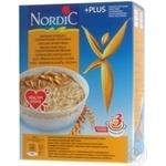 Хлопья овсяные Нордик с пшеничными отрубями 600г
