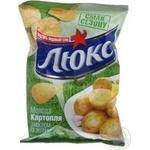 Чіпси картопляні Люкс молода картопля,зелень 25г