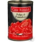 Vegetables tomato Casa rinaldi tomato pieces 400g can