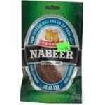 Snack Nabeer salted dried 25g Ukraine