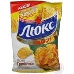 Chips Lux mushroom 80g Ukraine