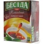 Чай Бесіда Класичний чорний 1.8г х 100шт