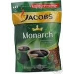 Natural instant sublimated coffee Jacobs Monarch 140g Germany
