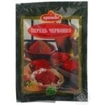 Spices pepper Aromix ground 20g packaged