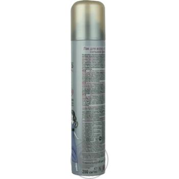 Лак для волос Прелесть Сильная фиксация 200мл - купить, цены на Novus - фото 5