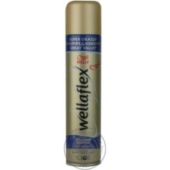 Лак Wellaflex Длительная поддержка объема для волос 400мл - купить, цены на Восторг - фото 2