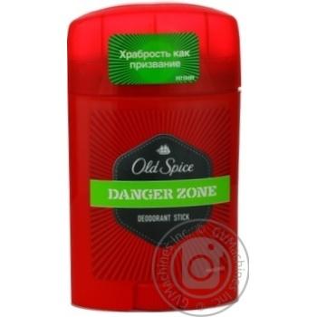 Дезодорант Old Spice Danger Zone твердый 50мл - купить, цены на Novus - фото 2