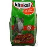 Корм для котів сухий Kitekat Печеня з овочами 2,4кг
