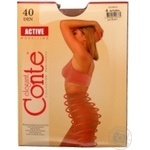 Tights Conte Active natural polyamide for women 40den 4size - buy, prices for Novus - image 4