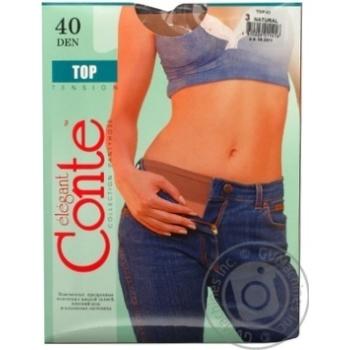 Колготы Conte Top 40 Den р.3 natural шт - купить, цены на Novus - фото 5