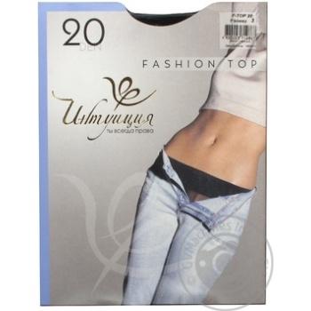 Колготы женские FashionTop20 3чер Украин шт