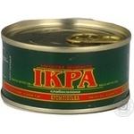 Caviar Kremlinskaya Kremlin salmon red grain-growing 120g can Ukraine