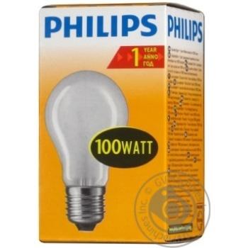 Bulb Philips e27 100w 1000hours 230v - buy, prices for Novus - image 2