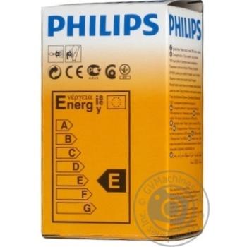Лампа Philips A55 звичайна матова 100w E27 FR - купить, цены на Novus - фото 4