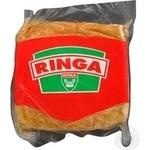 Meat Ringa raw smoked 400g vacuum packing Hungary