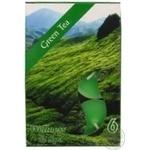 Свічка з ароматом Bispol зелений чай p15-83 6шт 4h