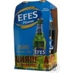 Beer Efes 5% 500ml glass bottle Russia