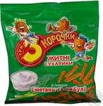 Сухари Три корочки ржаной со вкусом сметаны 40г Украина