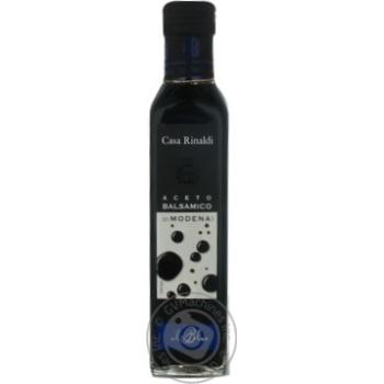 Оцет Casa Rinaldi бальзамічний із Модени синя етикетка 6% 250мл