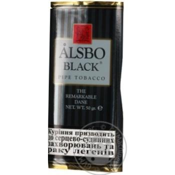 Тютюн для люльки Alsbo Black