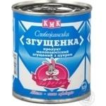 Продукт молокосодержащий Заречье Слобожанская Сгущенка сгущенный с сахаром 8.5% 400г железная банка Украина