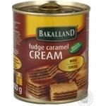 Condensed milk Bakalland with cocoa 400g can Poland