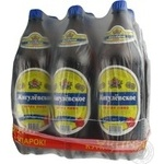 Beer Obolon Zhigulevskoe light 5pcs 1500ml Ukraine