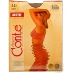 Tights Conte natural polyamide for women 40den 6size
